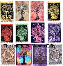 Mandala Tapestry Hippy Wall Hanging Decor Art Cotton Posters Wholesale Lot 100