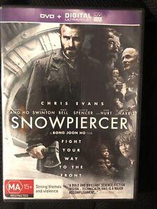SNOWPIERCER DVD CHRIS EVANS, TILDA SWINTON DVD Only Region 4