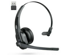 TaoTronics Bluetooth Headset with Microphone , Wireless Headset with Usb Adapter