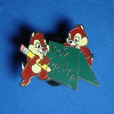 Chip and Dale A Disney Christmas Mystery Disney Shopping Pin LE 100 RARE