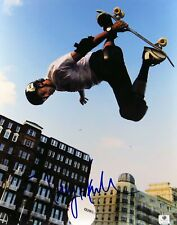 Tony Hawk Signed Autographed 11X14 Photo Skateboarding Star in Air Gv796578