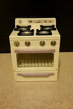 1996 TYCO Kitchen Littles Deluxe Stove for Barbie Electronic Sounds and Light