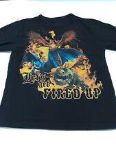 """Dragon """"Let's Get Fired Up"""" T-shirt"""