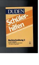 Duden - Schülerhilfen Rechtschreibung 2 / 3. und 4. Schuljahr - 1996