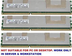 Memory Ram  DDR3 PC3 10600R  HP ProLiant DL380 G6 ,HP ProLiant DL360G7   2x Lot