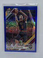Jordan Clarkson 2019-20 Donruss Optic Basketball Cavaliers Blue Prizm 45/59 SP