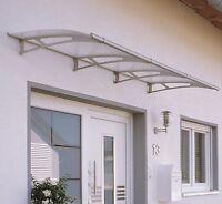 SCHULTE LT-Line Pultbogenvordach 2700 Bedachungsplatte Regenschutz Vordach