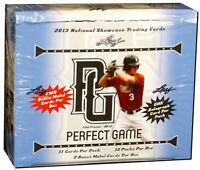 2013 Leaf Perfect Game National Showcase Baseball Sealed HOBBY BOX (12 Autos!)