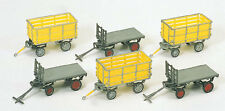 Preiser Postal Carts 17112 HO Scale (suit OO also)