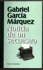 NOTICIA DE UN SECUESTRO - GABRIEL GARCIA MARQUEZ