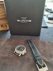 Glycine Airman 18 Black GL0223