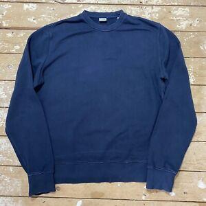 Aspesi Sweatshirt XL Navy Blue Cotton