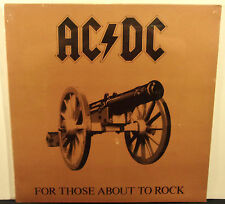 "AC/DC For Those About To Rock U.S. Orig.1981 Vinyl 12"" LP Sealed NM Club Edition"