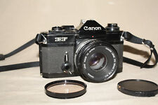 CANON EF 35mm FILM CAMERA WITH FD 50mm 1:1.8S.C LENS VERY GOOD 8349