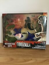 2014 Godzilla Destruction City Bandi With Box