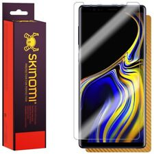 Skinomi Gold Carbon Fiber Skin+Clear Screen Protector For Samsung Galaxy Note 9