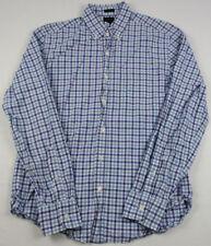 J.CREW Men's Slim Fit Long Sleeve Button Front Shirt SIZE M Multi Color Checks