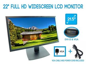 "ViewSonic VA2251m-LED 22"" Full HD 1080p LED Monitor - Open Box"