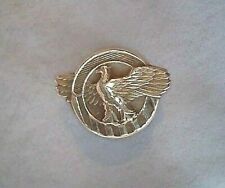 WWII Solid 14K GOLD Army Ruptured Duck Honorable Discharge Pin RARE