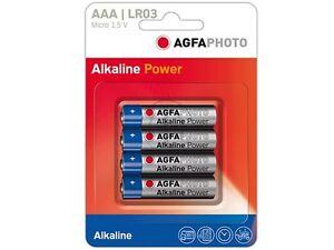 AGFA PHOTO  AAA 110-802572 AP MICRO BATTERY(4) LR03 High Quality Alkaline AAA