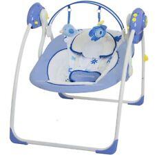 Babyschaukel -vollautomatisch 230V- Baby Schaukel Wippe Wiege Liege + Spielbogen