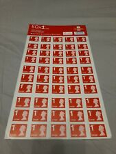 More details for 50 x 1st class royal mail large letter stamps - posted tracked service