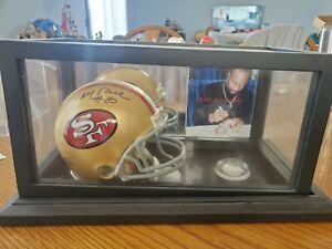 Jerry Rice Autograph Signed San Francisco 49ers Mini Helmet HOF