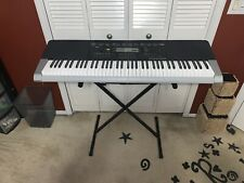 Casio WK-240 Keyboard  Touch Response Includes Stand 57399 Used