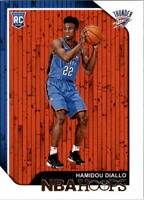 2018-19 NBA Hoops Basketball #275 Hamidou Diallo RC Oklahoma City Thunder