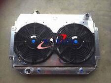 3 Core For HOLDEN HQ HJ HX HZ V8 253 & 308 AT/MT Aluminum Radiator +Shroud+fans