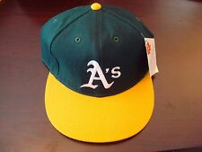 OAKLAND A'S SIZE 7 5/8 WOO FITTED DIAMOND COLLECTION 90S NEWERRA VINTAGE HAT CAP