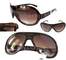 New Steve Madden Unisex Sunglasses S068 Amber Tortoise/Brown