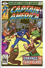 Captain America 240 Marvel 1979 NM Coney Island Arcade Pinball Chain Gang