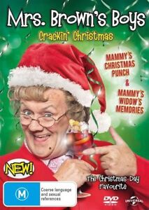 Mrs. Brown's Xmas Special-Christmas Crackers DVD (Pal, 2013) BRAND NEW-FREE POST