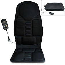 Multi-function 12V Car Vibration Seat Cushion Back Neck Pain Lumbar Pad Massager