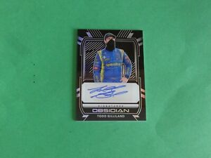 Todd Gilliland 2021 Obsidian Signatures Authentic Autograph #OS-TG