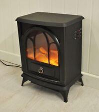 Neuf Noir 1800 W foyer électrique chauffage cheminée poêle LOG Burn effet flamme
