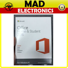 Microsoft Office Home & Student 2016 Retail Box For Windows 1PC Computer