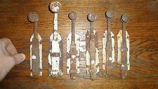 lot 6 objet ancien verrou targette loquet porte ancienne serrure