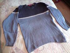 Dreifarbiger Strick-Pullover von EXPLORER Gr.44/46 **wie Neu**