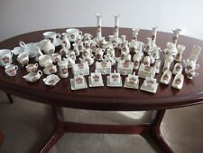 Monmouthshire: Abergavenny Crested China; 60+ piece collection.