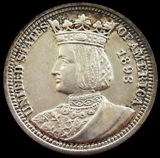 1893 WORLD'S COLUMBIAN EXPOSITION ISABELLA COMMEMORATIVE QUARTER MINT STATE