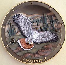 Gene Dieckhoner Spirit of Majesty 4th Sovereigns of the Sky Bird Collector Plate