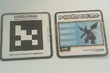 POKEDEX NINTENDO 3DS 3D SDCC 2011 PROMO AR CARD POKEMON ZEKROM