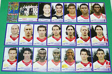 PANINI FOOTBALL FOOT 2006 AS NANCY LORRAINE ASNL PICOT COMPLET FRANCE 2005-2006