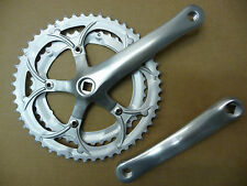 Steel / Alloy 170mm Double Road /Racing Chainset 42/52 Tooth 5 peice Detachable