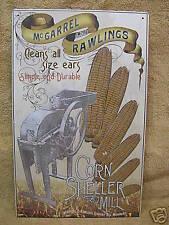 Vintage look Corn Sheller Mill Advertising Metal Sign Decor Farm Farming