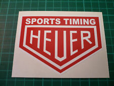 HEUER Sports Timing Stickers (Pair) 100mm