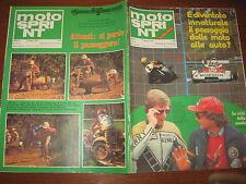 MOTOSPRINT 1978/22 CECCOTTO ROBERTS AGOSTINI