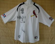 nwt~Nike MITCHELL & NESS COOPERSTOWN ST LOUIS CARDINALS Baseball PUJOLS Jersey~L